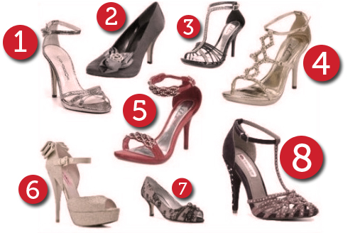 My favorite holiday party heels under $100