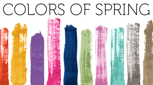 Energetic Colors remington | the colors of spring 2012