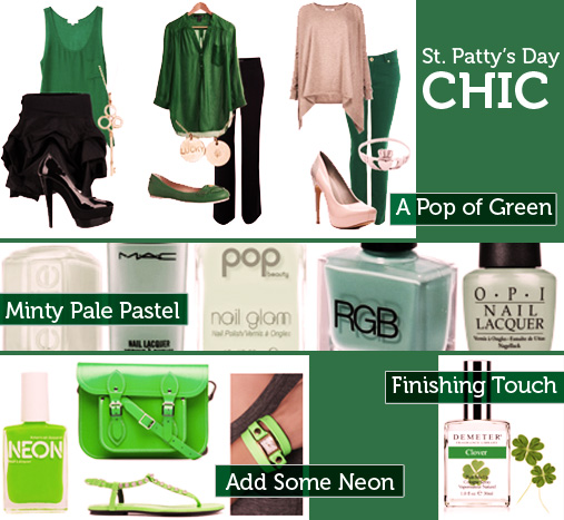 Dress in Style for St Patrick's Day