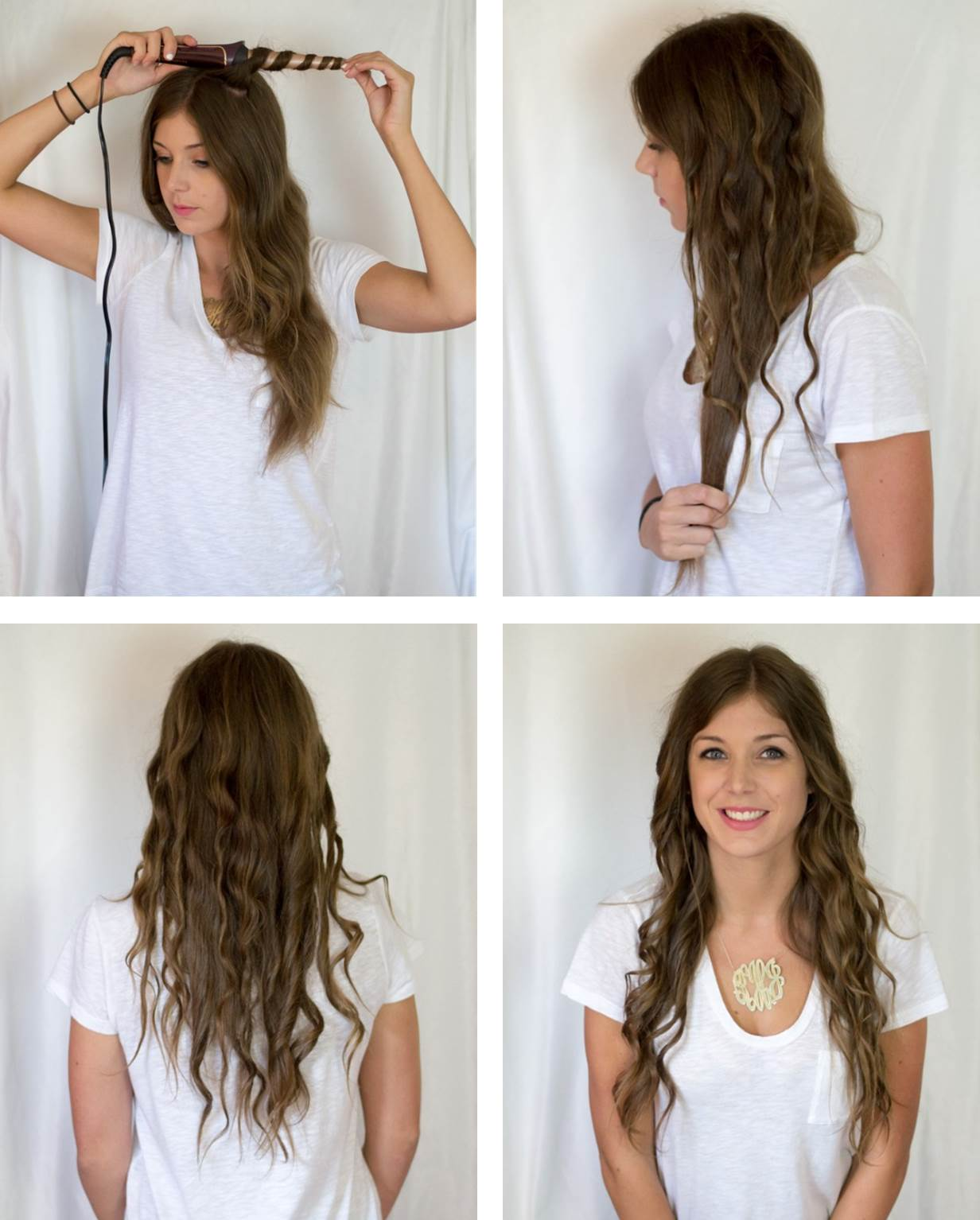 Remington 3 different curls from 1 styling tool when you are finished twisting and curling all of your hair you may think you look a bit scary the trick is to brush out these curls with your fingers urmus Gallery